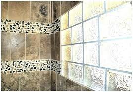 full size of glass block window shower replacement design in wall us windows company gorgeous bathroom