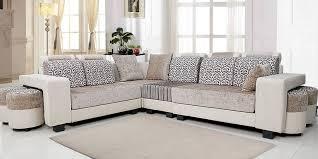 L Shaped Sofa Royal Beige Home Furniture The Kienandsweet
