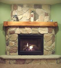 natural wood fireplace mantels barn beam fireplace mantels with natural stone fireplace wall for rustic accent