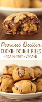 peanut butter chocolate chip cookie dough bites. Plain Peanut Grainfree Peanut Butter Chocolate Chip Cookie Dough Bites On T