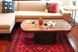 how to build a round coffee table wood base diy square with storage buil