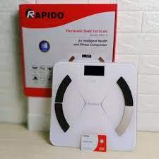 Cân sức khỏe điện tử thông minh Rapido- Hàng chính hãng, Bảo hành 12 tháng  giá cạnh tranh