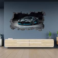 Tons of awesome bugatti logo wallpapers to download for free. Wall Decals Bugatti Veyron Car Wall Art Stickers Bugatti Logo Home Decor Home Garden Home Decor
