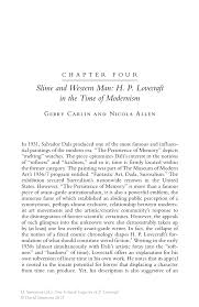 slime and western man h p lovecraft in the time of modernism new critical essays on h p lovecraft new critical essays on h p lovecraft