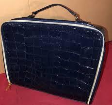 dior backstage makeup bag travel case black faux leather large for