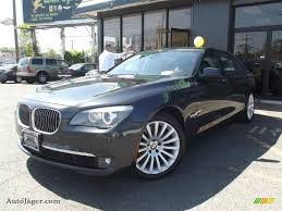 All BMW Models 2010 bmw 750i : 2010 BMW 7 Series 750Li xDrive Sedan in Dark Graphite Metallic ...