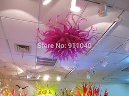 low profile chandelier free office grand purple glass low profile ceiling light in chandeliers from