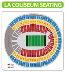 Unfolded Rams Football Seating Chart 2019