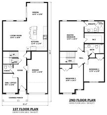 1800 sq ft house plans no garage elegant 122 two story house plans with side garage