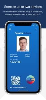 railcard on the app