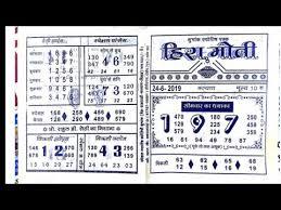 Hira Moti Satta Chart Videos Matching 06 05 2019 Hira Moti Special Chart Kalyan