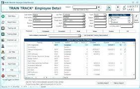 Template Free Employee Training Matrix Template Excel Tracker
