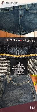 Tommy Hilfiger Women Jean Short Size 8 Tommy Hilfiger Women