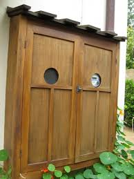 Decorative Electrical Box Cover very pretty nice way to hide an electrical box on a house front 49