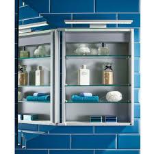 Aluminium Bathroom Cabinets Alliance Aros 500mm Led Aluminium Mirror Cabinet