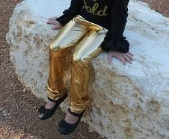 metallic gold vegan faux leather leggings for baby and toddler girls metallic gold leggings metalic gold