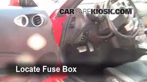 2003 2009 nissan 350z interior fuse check 2008 nissan 350z 3 5l v6 350z fuse box behind battery at 350z Fuse Diagram