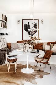 kara rosenlund at home down under kate young design kara rosenlundcowhide rug decoraustralian