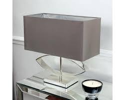 rectangular table lamp lighting silver plated table lamp cast metal rectangular silk shade rectangular table lamps rectangular table lamp