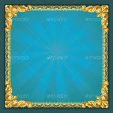 gold frame border design. Old-fashioned Golden Border - Borders Decorative Gold Frame Border Design