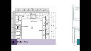 Kitchen Floor Plans Designs Kitchen Floor Plans For Beautiful Home Youtube