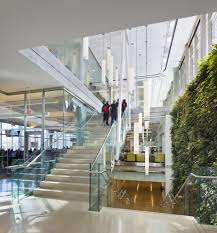 informal green wall indoors. A Two-level Living Wall Welcomes Visitors In The Building\u0027s Front Entrance. Local Plants Used Act As Natural Bio-filters And Improve Indoor Air Informal Green Indoors
