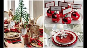 Christmas Table Setting 2016 Christmas Holiday Dinner Table Setting Ideas Youtube