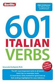 Pdf Download Berlitz Language 601 Italian Verbs Berlitz