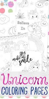 unicorn coloring pages free unicorn preschool theme activities