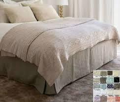 linen bedskirt king. Modren King Box Bed Skirt U2013 Multiple Colors To Choose Minimalistic Classy For Linen Bedskirt King S