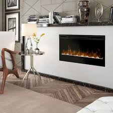 34 prism series wall mount linear electric fireplace