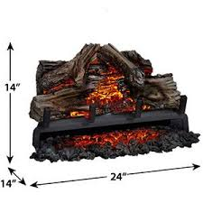 Electric Log Inserts  Electric Fireplaces Direct  18669661122 Electric Fireplace Log Inserts