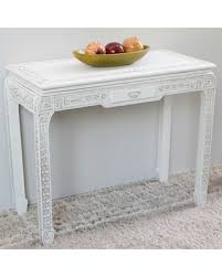 antique white sofa table. Astoria Grand Betty Console Table ARGD6359 Color: Antique White Antique White Sofa Table