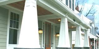 exterior column wraps. Faux Column Wraps Porch Exterior Columns Tapered Custom How Stone .