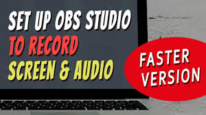 Record Your Computer Screen How To Record Your Computer Screen And Audio Obs Olohuonetuotanto