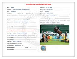 Uspc Stall Card Template Fillable Fill Online Printable