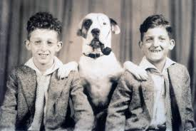 who was jerome lemelson lemelson center for the study of photo of jerome and harry as children dog