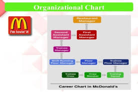Organizational Structure Chart Of Mcdonalds Different Organisations And Their Structure And Culture