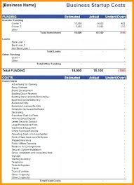 Lean Business Plan Sample Template Startup Expense 3 2 Getreach Co