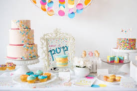 Sprinkle Baby Shower Theme Ideas Pink Hearts And Colorful SprinklesBaby Shower Sprinkle Ideas
