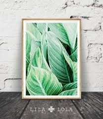 tropical plant wall art leaf print printable digital download large poster tropical wall decor plant leaf printable leaf wall decor on green wall art decor with 43 best kunst k che und flur images on pinterest art drawings