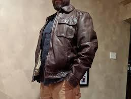 banana republic leather jacket 14
