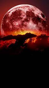 Super Blood Moon iPhone Wallpaper ...