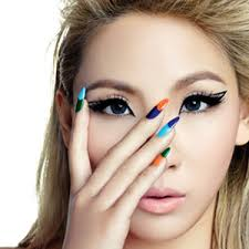 cl fashion and 2ne1 image