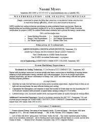 Sample Of Job Resume Green Job Resume Sample Monster Com