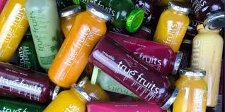 Any sweet, edible part of a plant that resembles fruit, even if it does not develop from a floral ovary ; Smoothie True Fruits Wird Von Globus Boykottiert