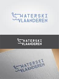 Design Vlaanderen Modern Playful Sporting Good Logo Design For Waterski