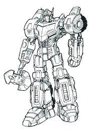 Transformers Coloring Pages To Print This Is Transformer Color Pages