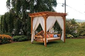outdoor swing bed outdoor swing bed with canopy astronlabsco