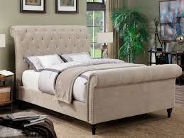 upholstered bed bedroom